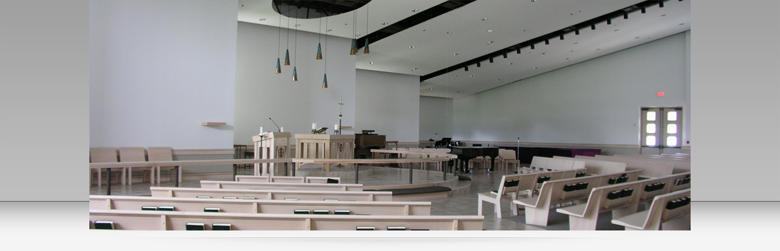 First Lutheran Church - Interior